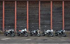 Motorcycle desktop wallpapers BMW R nineT Heritage Family - 2016