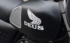 Wallpapers custom motorcycle Deus Ex Machina Malachi Crunch Honda XL500 2016