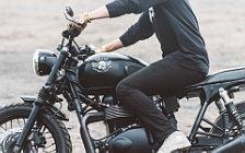 Wallpapers custom motorcycle Deus Ex Machina Onyx 2016 Triumph Scrambler 2012