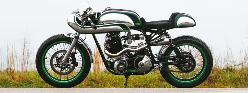 Motorcycles wallpapers Fuller Moto Misty Green 2015 Norton Commando 750 1968 - Motorcycle wallpapers