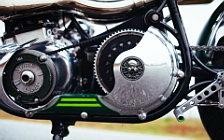 Wallpapers custom motorcycle Fuller Moto Misty Green 2015 Norton Commando 750 1968