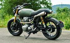 Wallpapers custom motorcycle Lazareth Kawasaki W800 2014