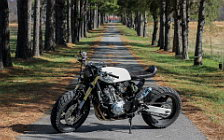 Wallpapers custom motorcycle One-Up Moto Garage Shandy 2015 Honda CB600F 2004