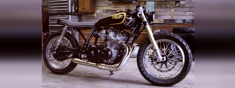 Motorcycles wallpapers One-Up Moto Garage Mamba 2016 Honda CB750 1979 - Motorcycle wallpapers