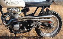 Wallpapers custom motorcycle One-Up Moto Garage Mearh 2016 Yamaha XS650 1976