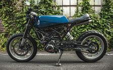 Wallpapers custom motorcycle One-Up Moto Garage Angular 2017 KTM RC390 2015