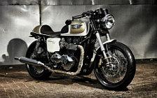 Wallpapers custom motorcycle Studio Motor The Flutter 2016 Triumph Bonneville t100 2015
