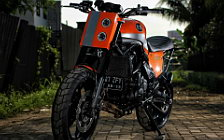 Wallpapers custom motorcycle Studio Motor The Jerk 2016 Kawasaki Versys 650 2013
