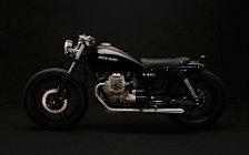 Wallpapers custom motorcycle Venier Diabola V35C 2012 Moto Guzzi V35C 1986