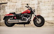 Motorcycle wallpapers Harley-Davidson Dyna Fat Bob - 2017