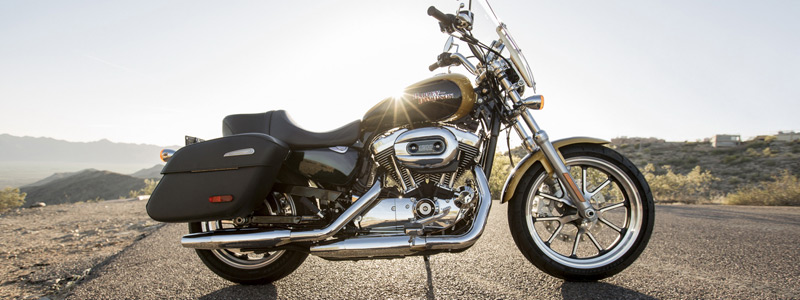 Motorcycles wallpapers Harley-Davidson Sportster SuperLow 1200T - 2017 - Motorcycles wallpapers
