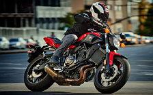 Motorcycle wallpapers Yamaha FZ-07 - 2017